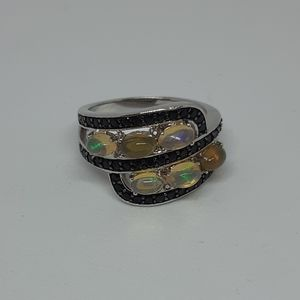 Sterling Silver Jelly Opal Ring
